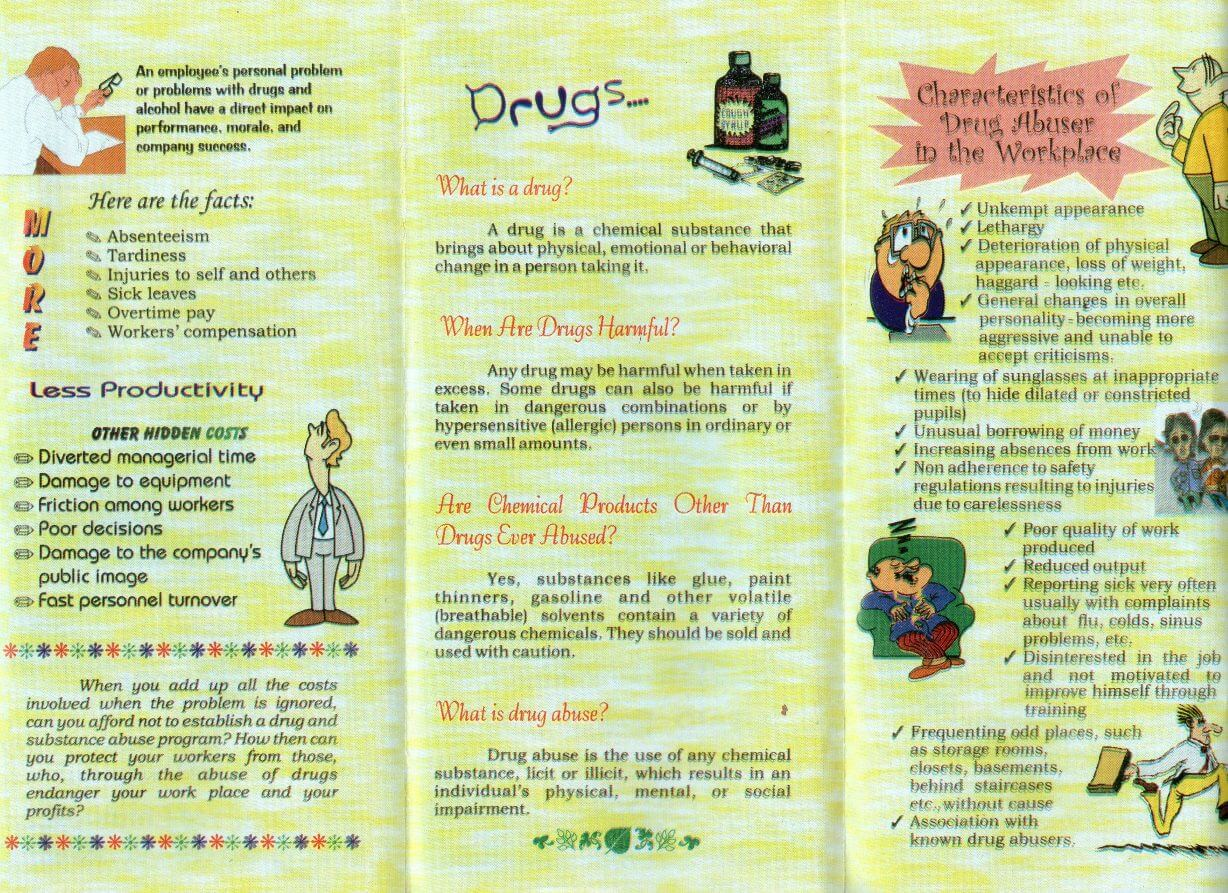 Drug Abuse Prevention in the Workplace | DepEd, Division ...