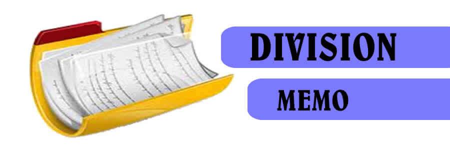 Division Memoranda